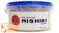 """Рис для суші """"Nishiki"""" преміум 500г"""