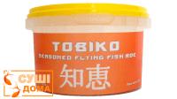 """Ікра летючої риби """"Tobiko"""" (оранжева) 100г"""